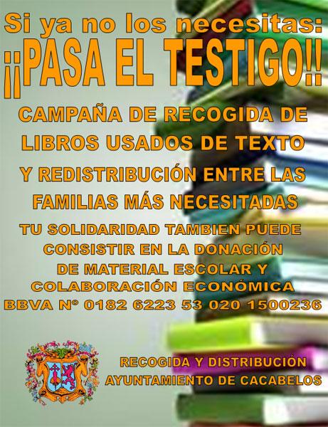 Donar libros de texto usados barcelona